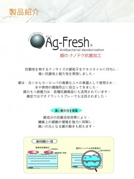 Ag-Fresh   ANTIBACTERIAL DEODORIZATION